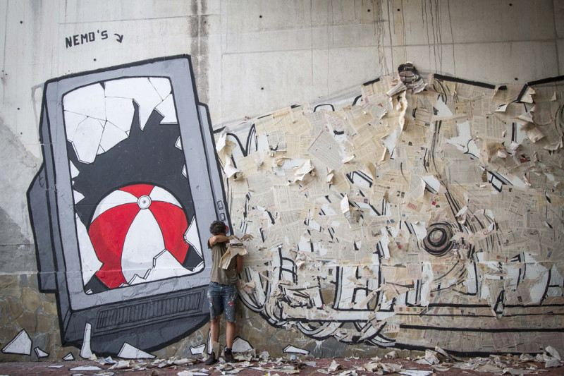 NemO's - Playing Can Kill TV - Sapri, Italy, 2013 - detail