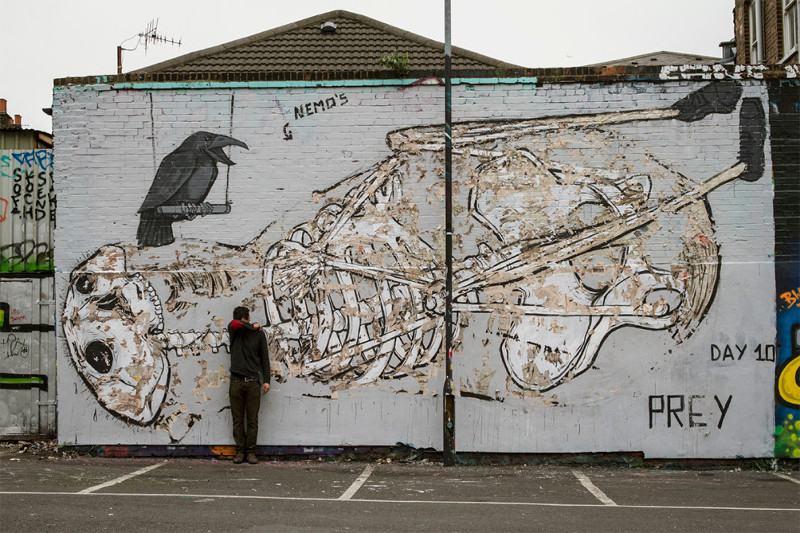 NemO's - The Crow-n - Brick Lane, London, 2014 - after - 1
