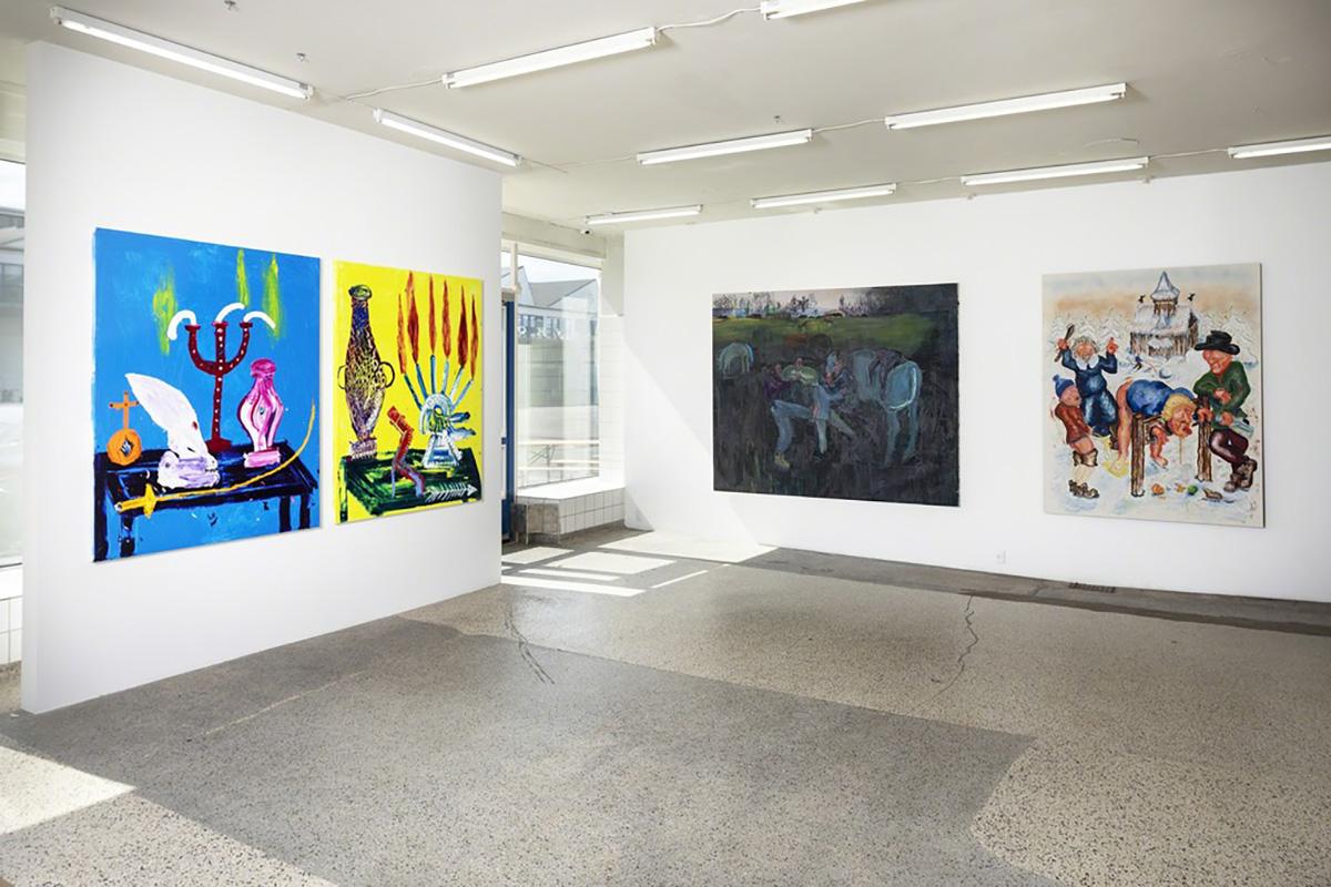 New Bad Painting Exhibition View V1 Gallery Copenhagen