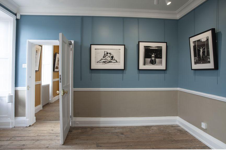 Newlands House Gallery, Helmut Newton 100, Gill Room