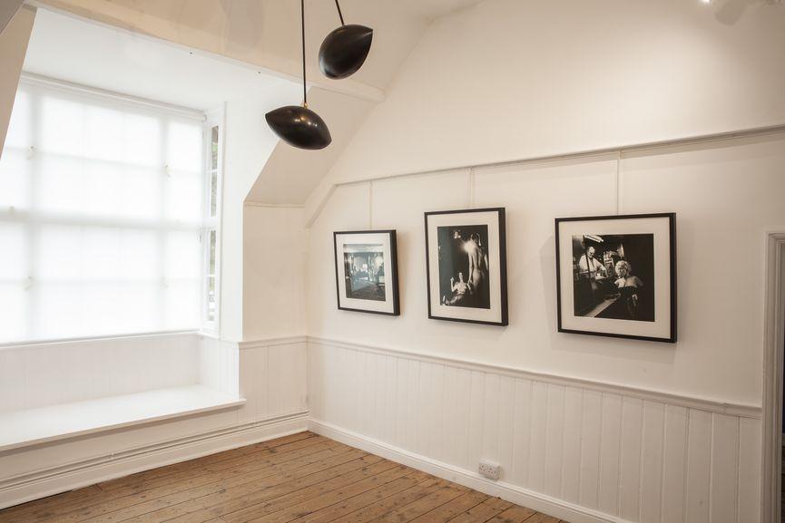 Newlands House Gallery, Helmut Newton 100, James Room