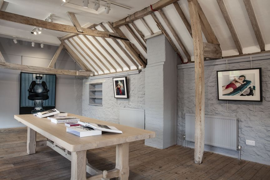 Newlands House Gallery, Helmut Newton 100, Mortimer Room