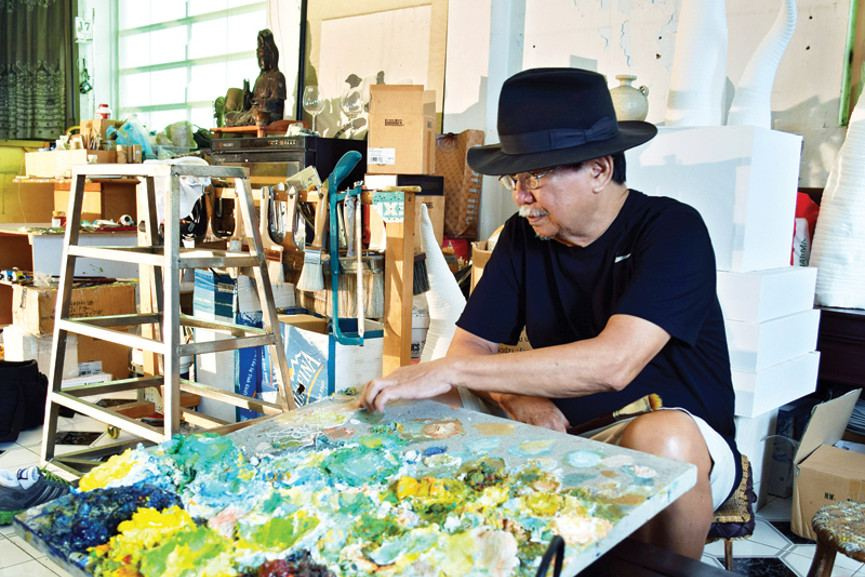 Nguyen Trung - Photo of the artist - Image via esquirevietnacom