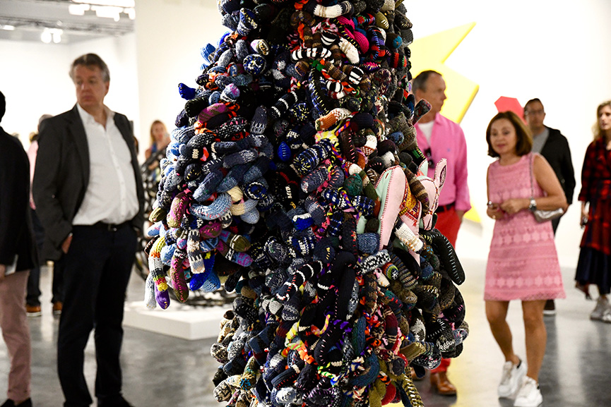 Nick Cave Soundsuit Art Basel Miami 2019