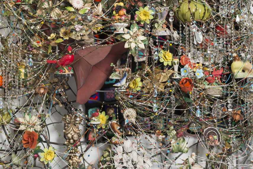 Nick Cave - Wall Relief detail