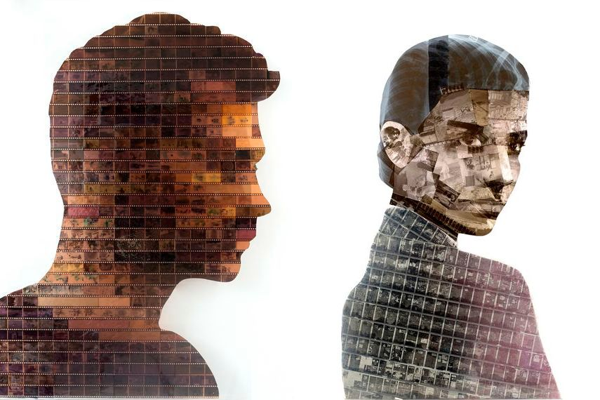Nick Gentry - Capture, 2014 (Left) / Metropolis, 2014 (Right)