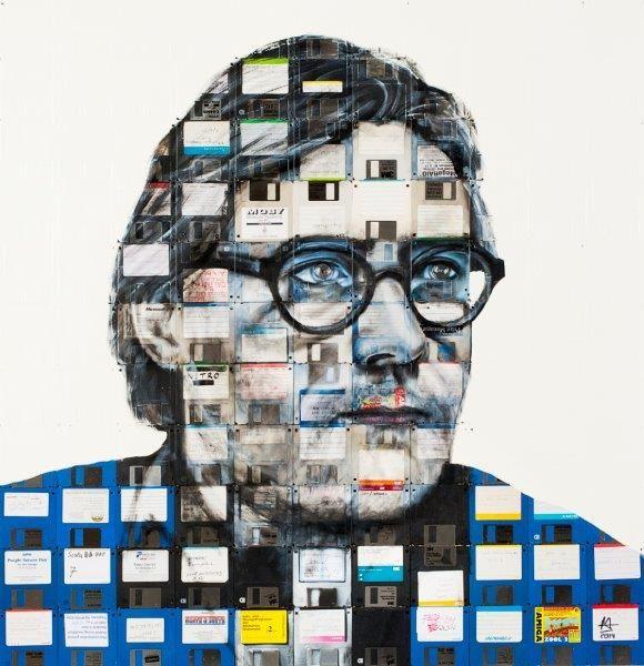 Nick Gentry-Portrait (Anton Magnani)-2014