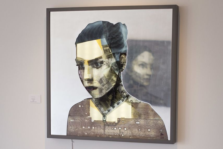 Nick Gentry - Radiate, 2015