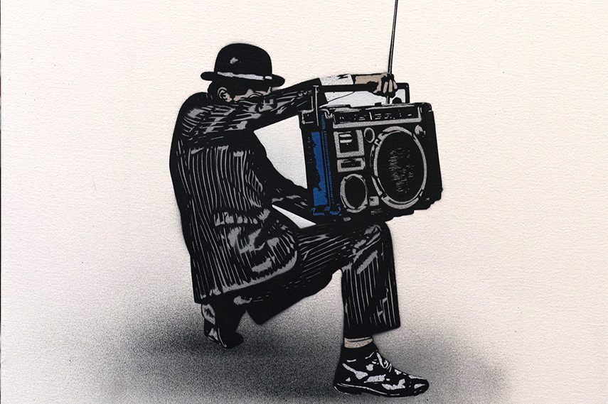Nick Walker - Boombox Vandal 2 2013 tma edition morning post 2015 vandal print