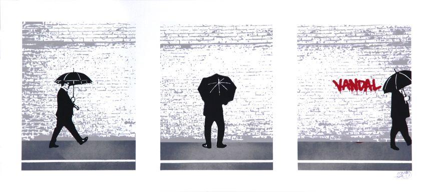 Nick Walker - Vandal Triptych, 2009