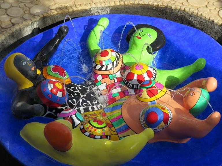 Nicki de Saint Phalle - The Garden of Tarot, giardino dei tarocchi capalbio italy