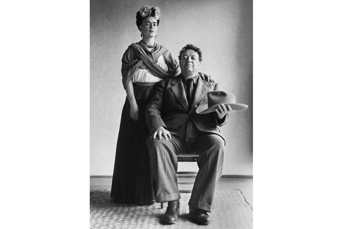 Nickolas Muray - Frida and Diego