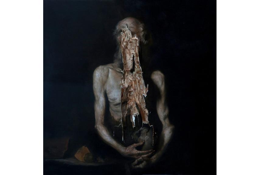 Nicola Samori - Aperto (Il bene di Paolo) , 2015 - Image via nicolasamoricom the new chiaroscuro art