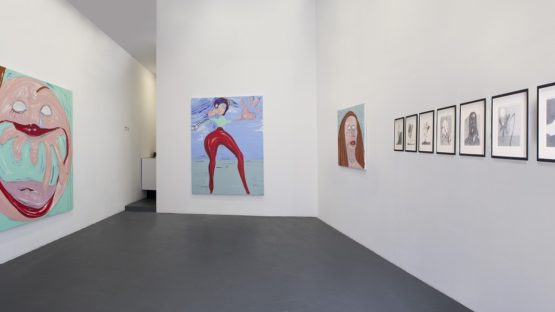 Nicola Tyson at Nathalie Obadia gallery, exhibition Goodbye, Hello