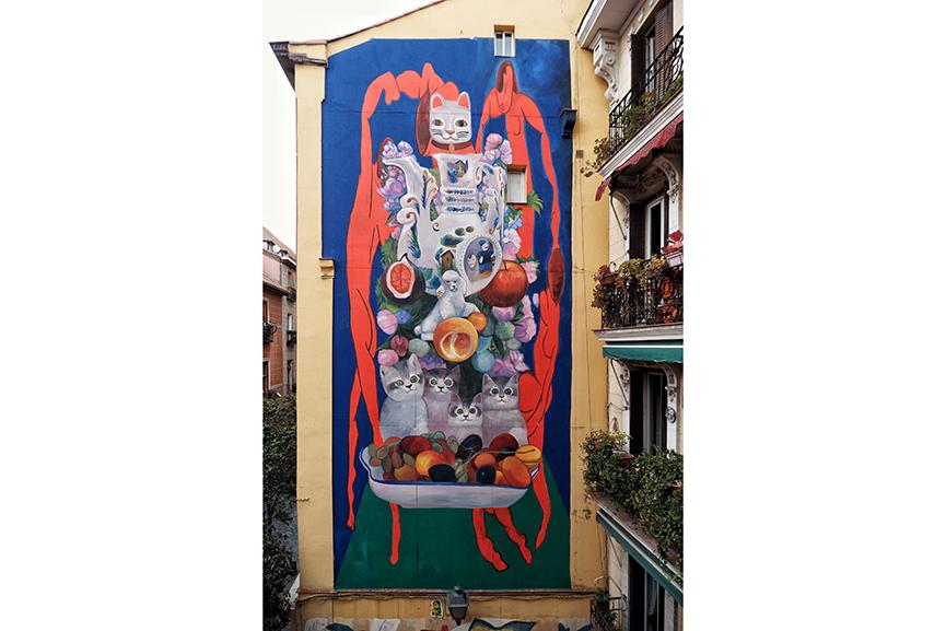 Nicolas Romero Mural Urvanity Art Madrid 2020