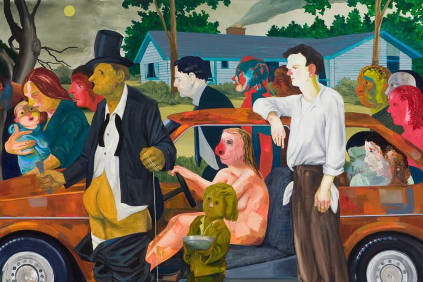 Nicole Eisenman - The Triumph Of Poverty,2009 detail