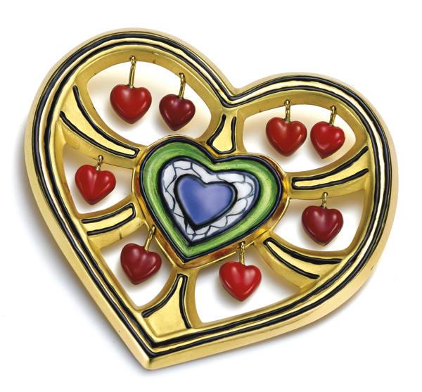 Niki de Saint Phalle-Arbre De Coeur (Tree Of Heart)-1990