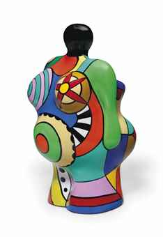 Niki de Saint Phalle-California Nana, (Kalifornische Nana), (La Californienne), (Nana vase), (Vase California Nana)-2000