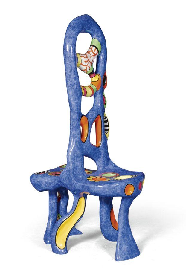 Niki de Saint Phalle-Fauteuil Dos-A-Dos (Back To Back Chair)-1993
