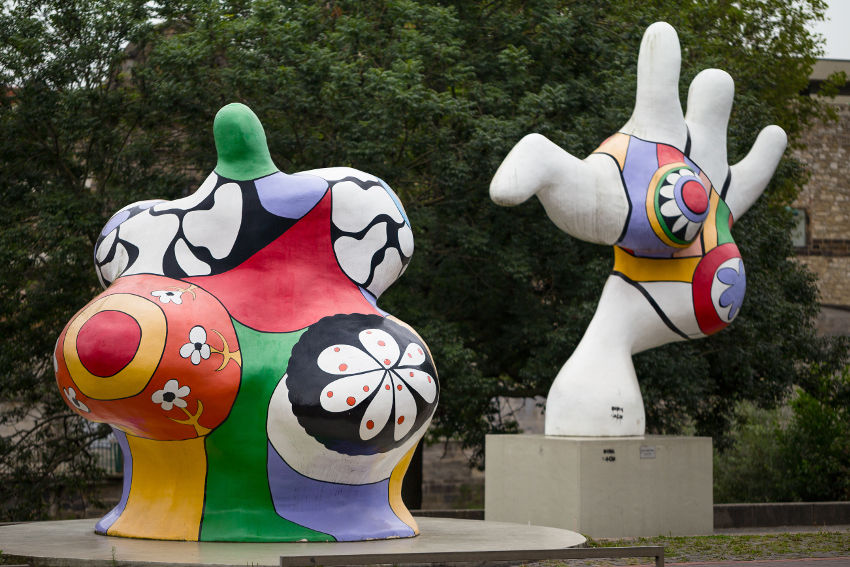 Niki de Saint Phalle colorful works are amazing