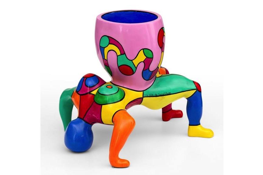 Niki de Saint Phalle - Snake lady vase