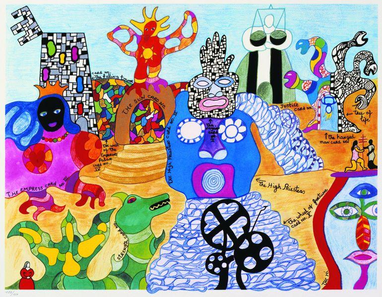 Niki de Saint Phalle - Tarot Garden, 1991