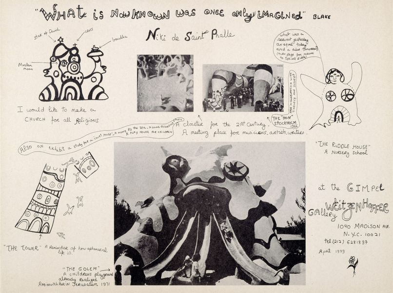 Niki de Saint Phalle -What is now known was once only imagined, 1979