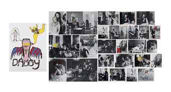 Niki de Saint Phalle-(i) Daddy; (ii) Untitled; (iiI) Untitled; (iv) Untitled; (v) Untitled-1973
