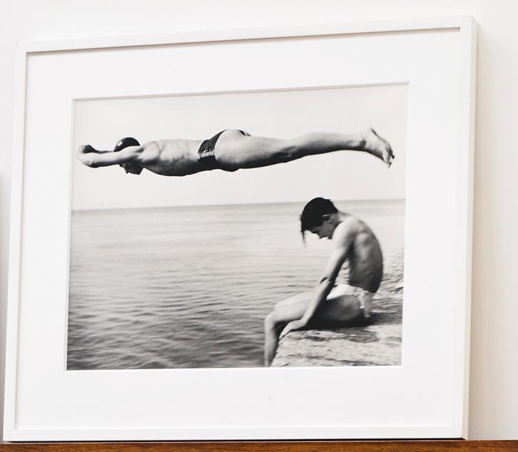 Nino Migliori-Il Tuffatore (The Diver)-1951
