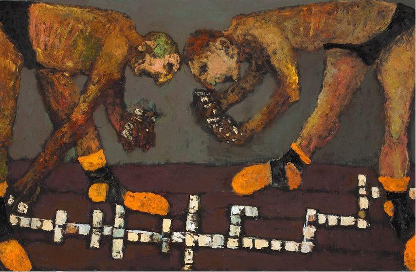 Niyaz Najafov - Domino (detail), 2011