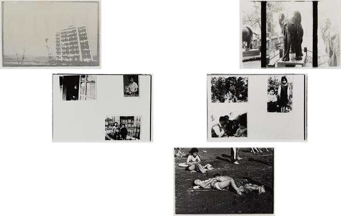 Nobuyoshi Araki-Five works from the Theater of Love Series-1965