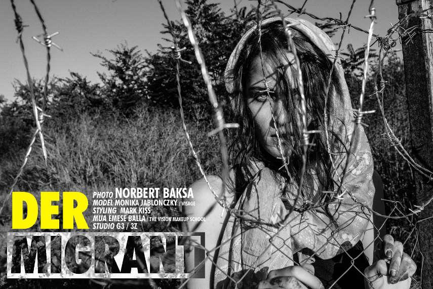 hungarian photographer migrant crisis