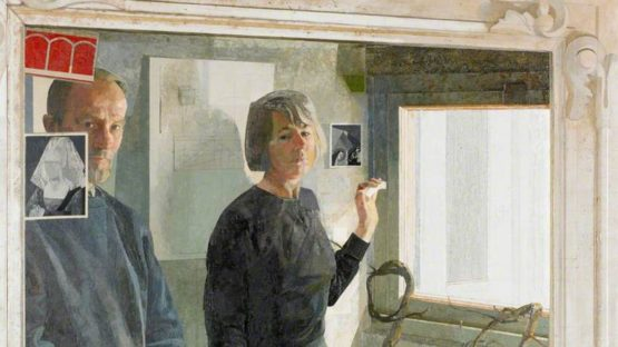 Norman Blamey - In the Cellar Mirror (Detail)