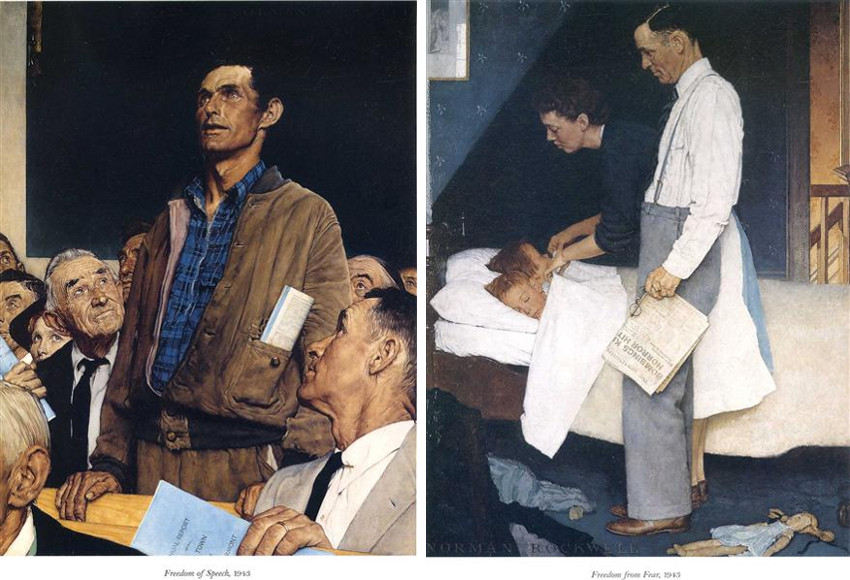 Norman Rockwell boy home was at the saturday evening post museum collection in april