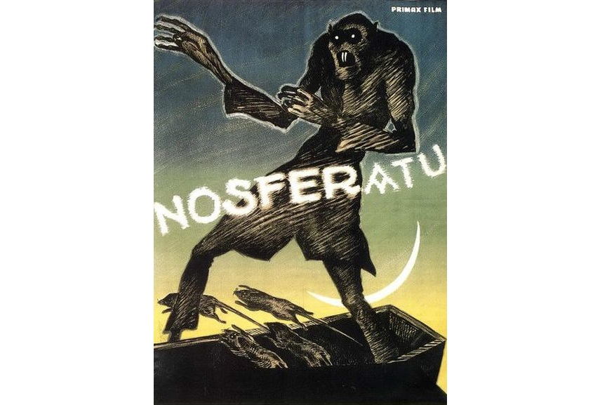 Nosferatu movie vintage wars classic new star original print add james price