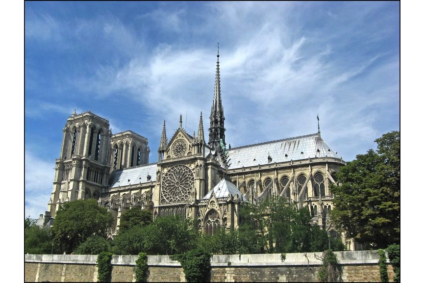 Notre Dame, Paris, gothic architecture