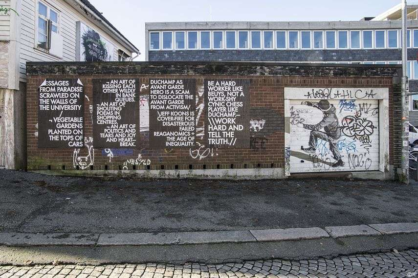 subscribe for nuart to write about high way art