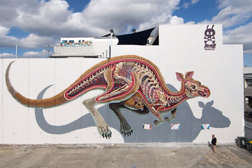 new mural by nychos