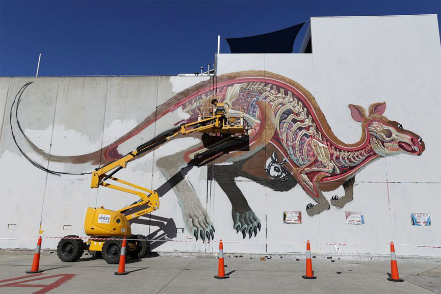 nychos mural in melbourne