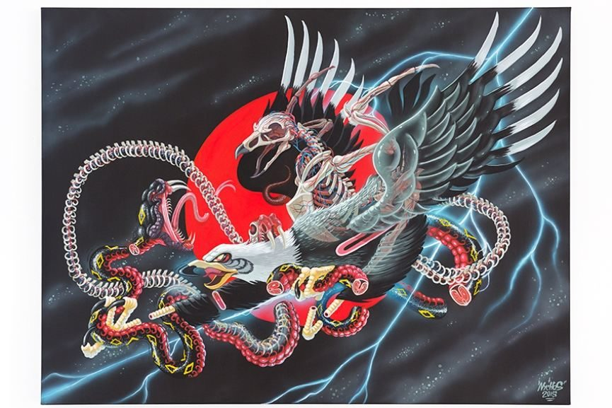 Nychos exhibition