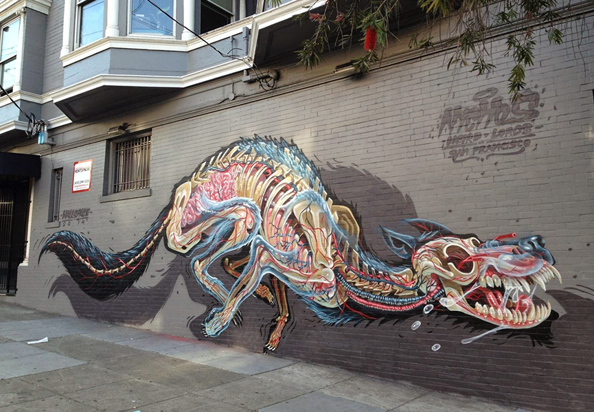 Mural in San Francisco