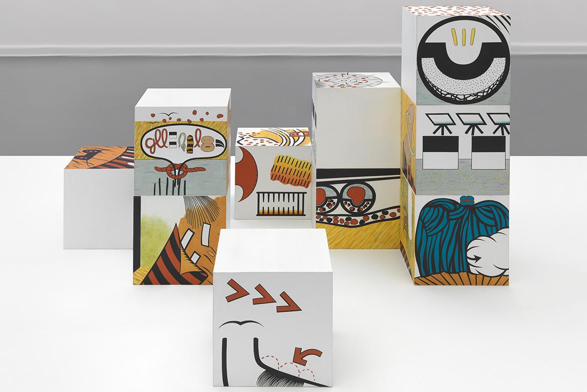 Öyvind Fahlström - Sitting...Blocks, 1965-1966