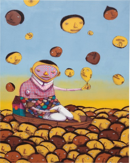Os Gemeos-Landscape-2009