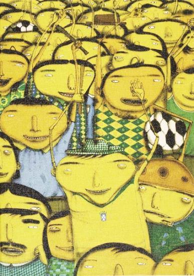 Os Gemeos-Nos somos penta!-2005