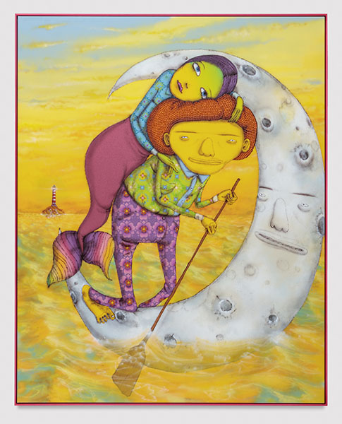 OSGEMEOS - The long way home, 2017