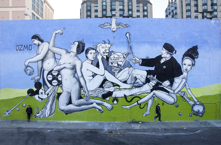 OZMO - Untitled, 11x24m, Tenderloin, San Francisco, 2016