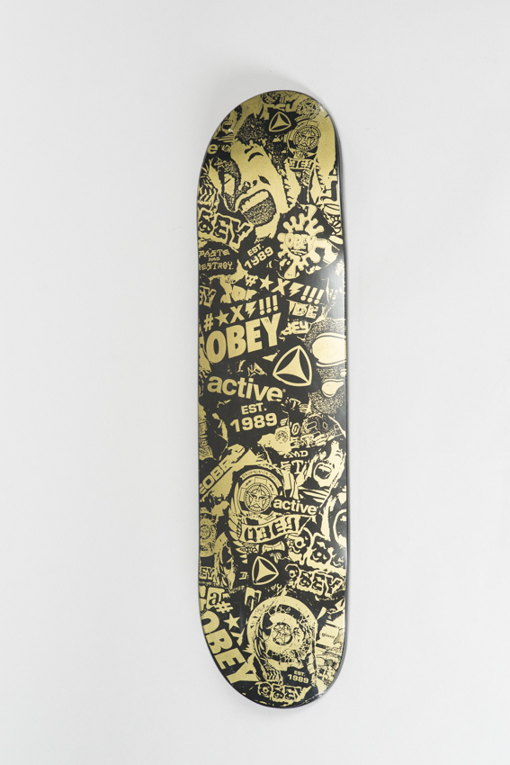 Shepard Fairey-Skateboard Obey Active-