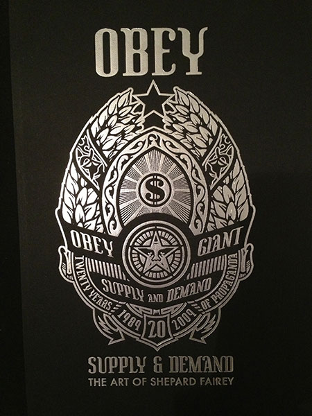 Shepard Fairey book