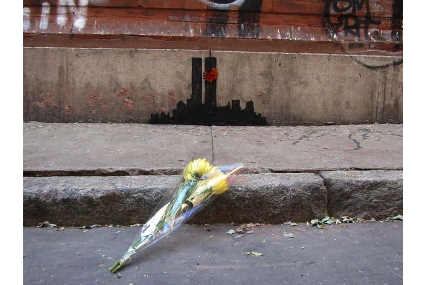 Banksy in New York City, October 15th, Tribeca