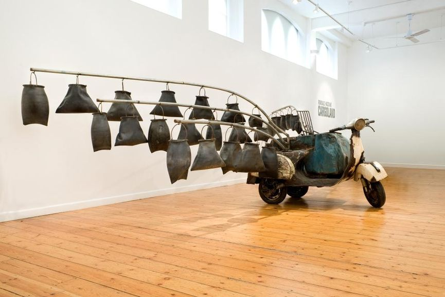 the installation in 2016 from the national collection